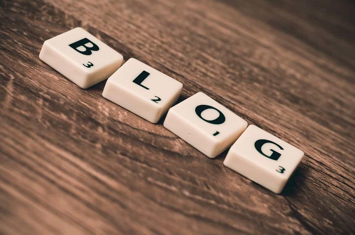 blogの文字