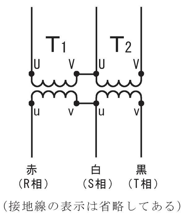 第一種電気工事士の技能試験の試験問題No.5の内部配線1
