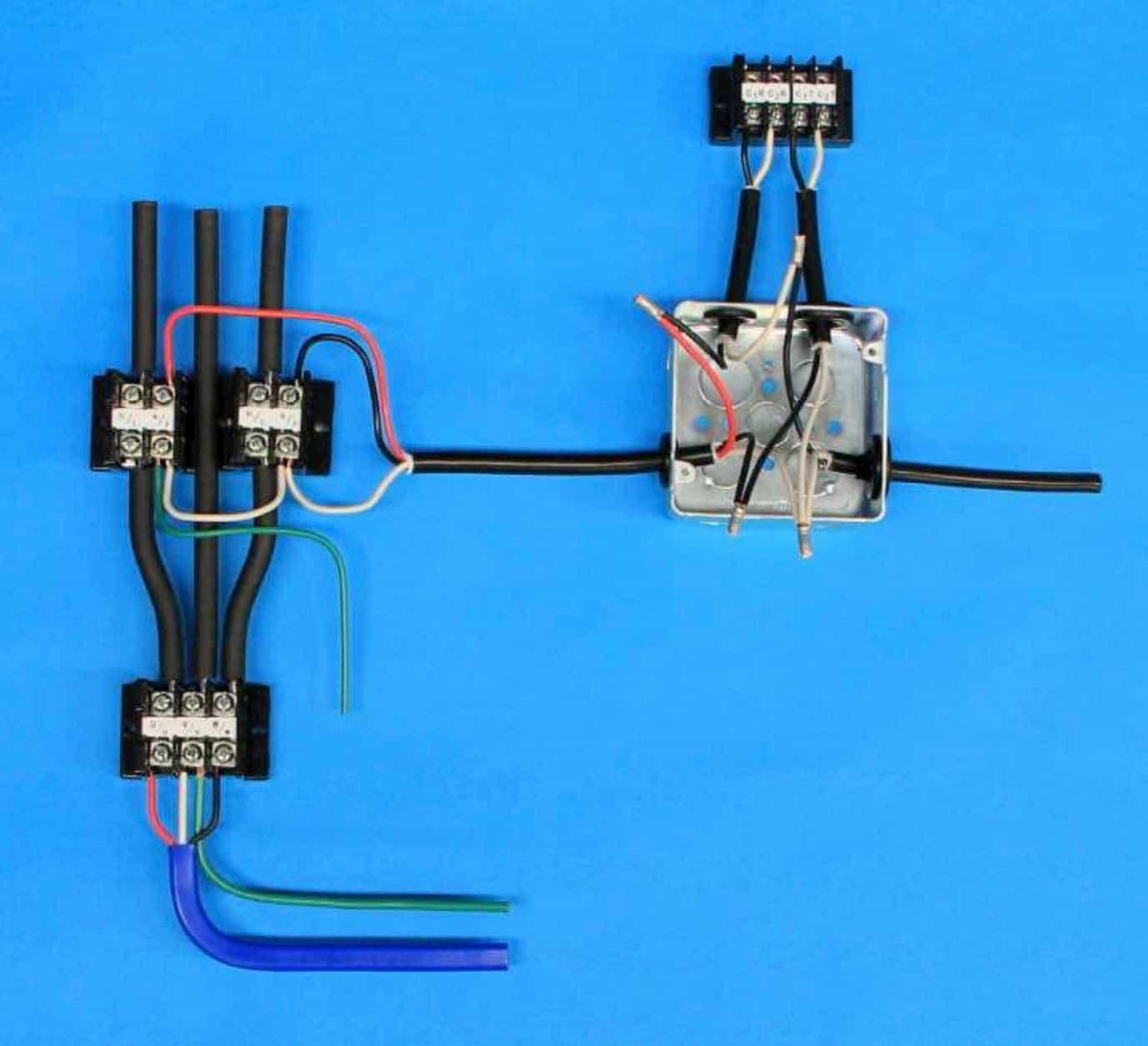 第一種電気工事士の技能試験の試験問題No.7の施工完成形