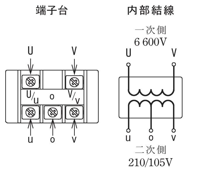 第一種電気工事士の技能試験の試験問題No.4の内部配線1