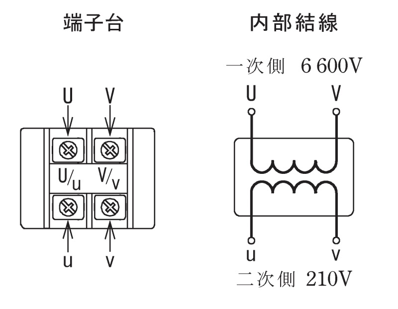 第一種電気工事士の技能試験の試験問題No.5の内部配線2