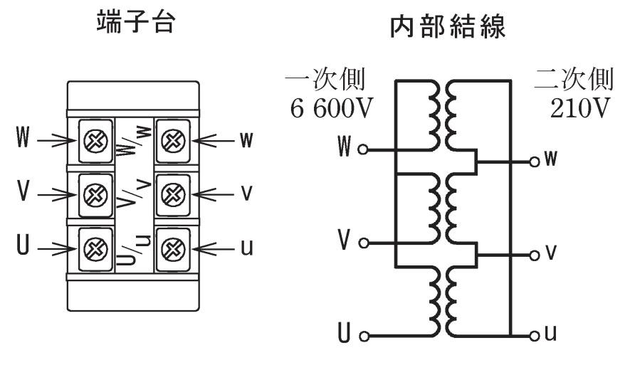 第一種電気工事士の技能試験の試験問題No.8の内部配線1