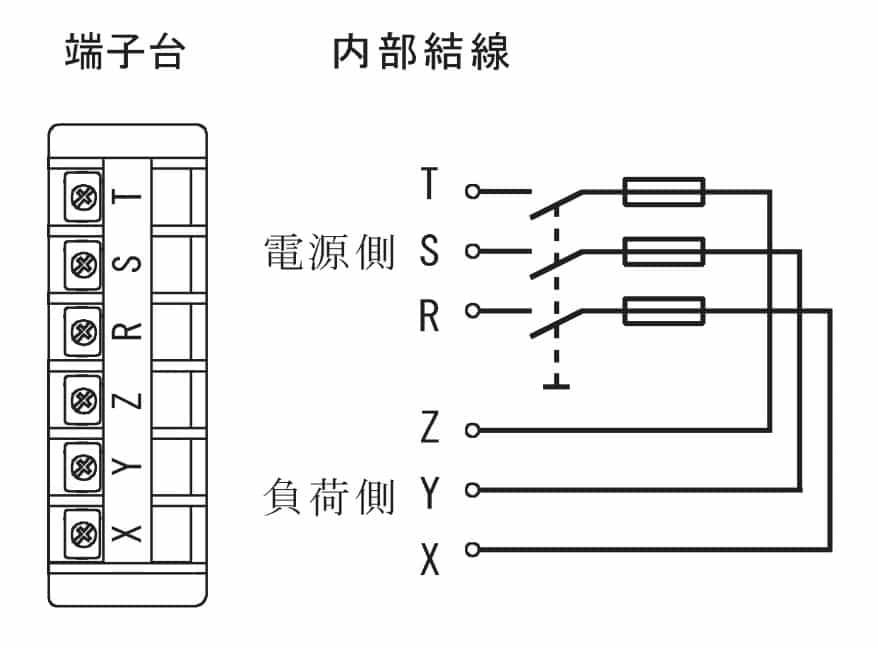 第一種電気工事士の技能試験の試験問題No.5の内部配線3