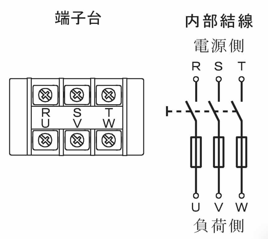 第一種電気工事士の技能試験の試験問題No.6の内部配線2
