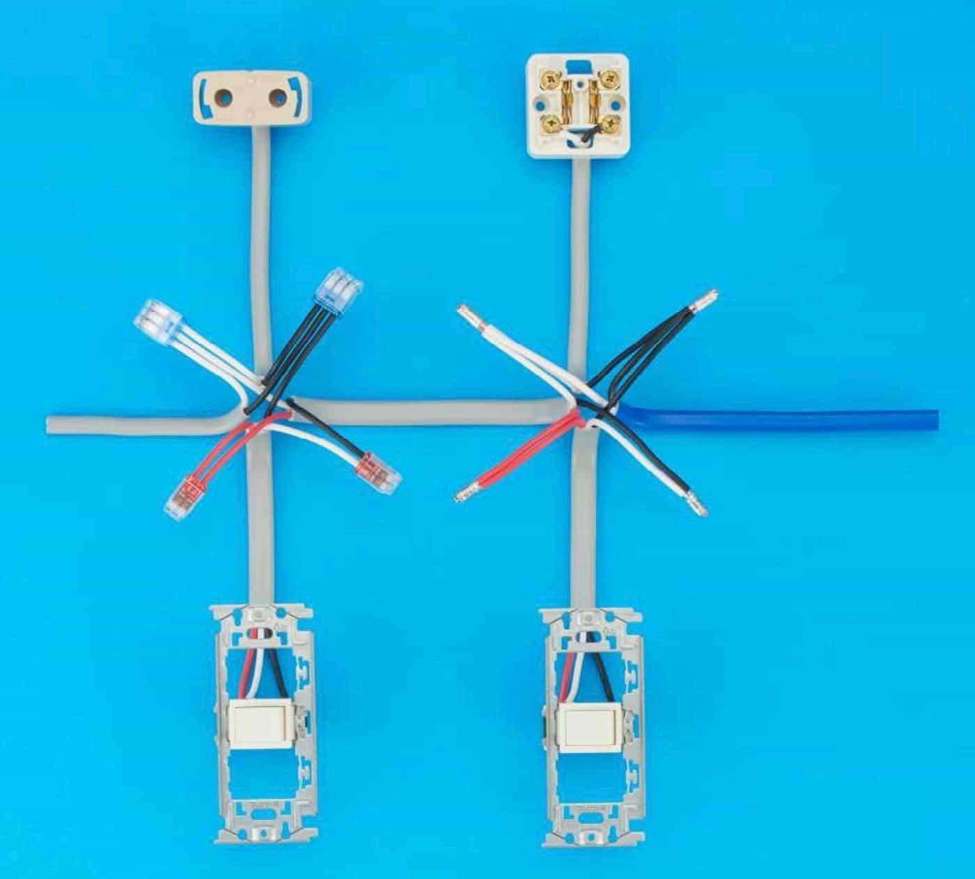 第二種電気工事士の技能試験の試験問題No.6の施工完成形