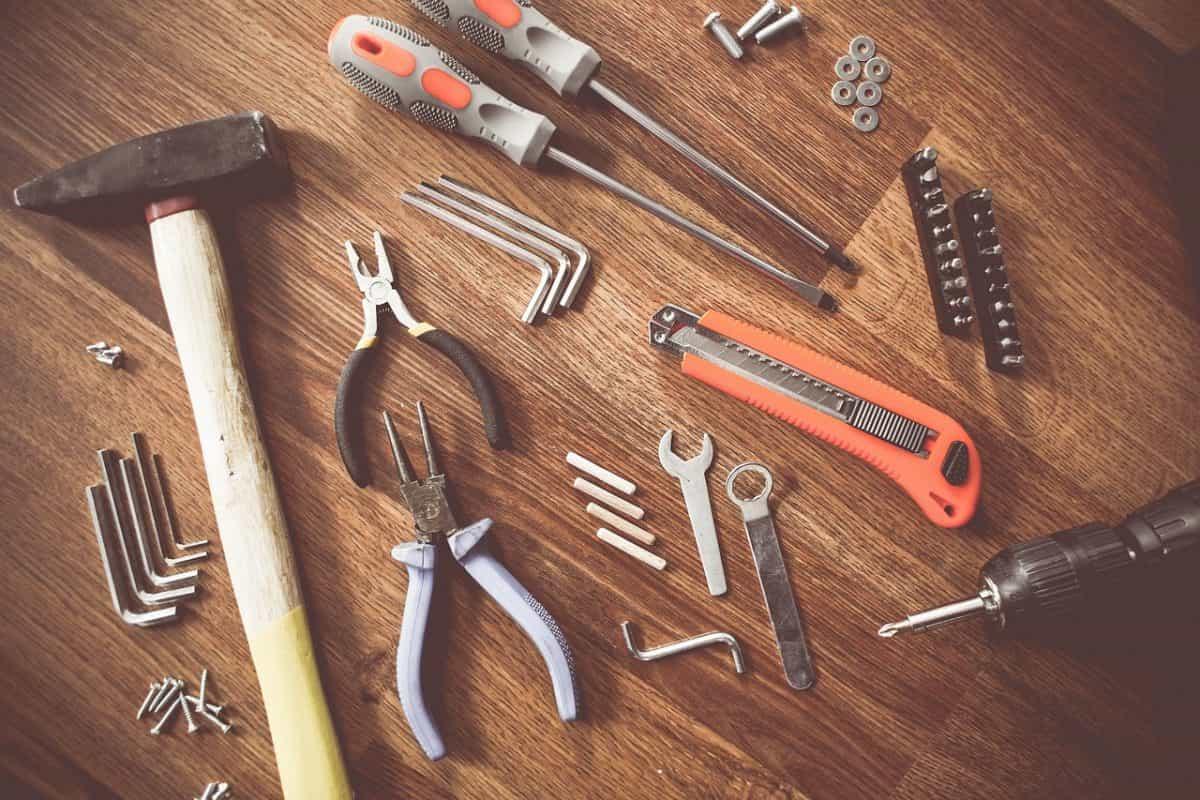 様々な工具類