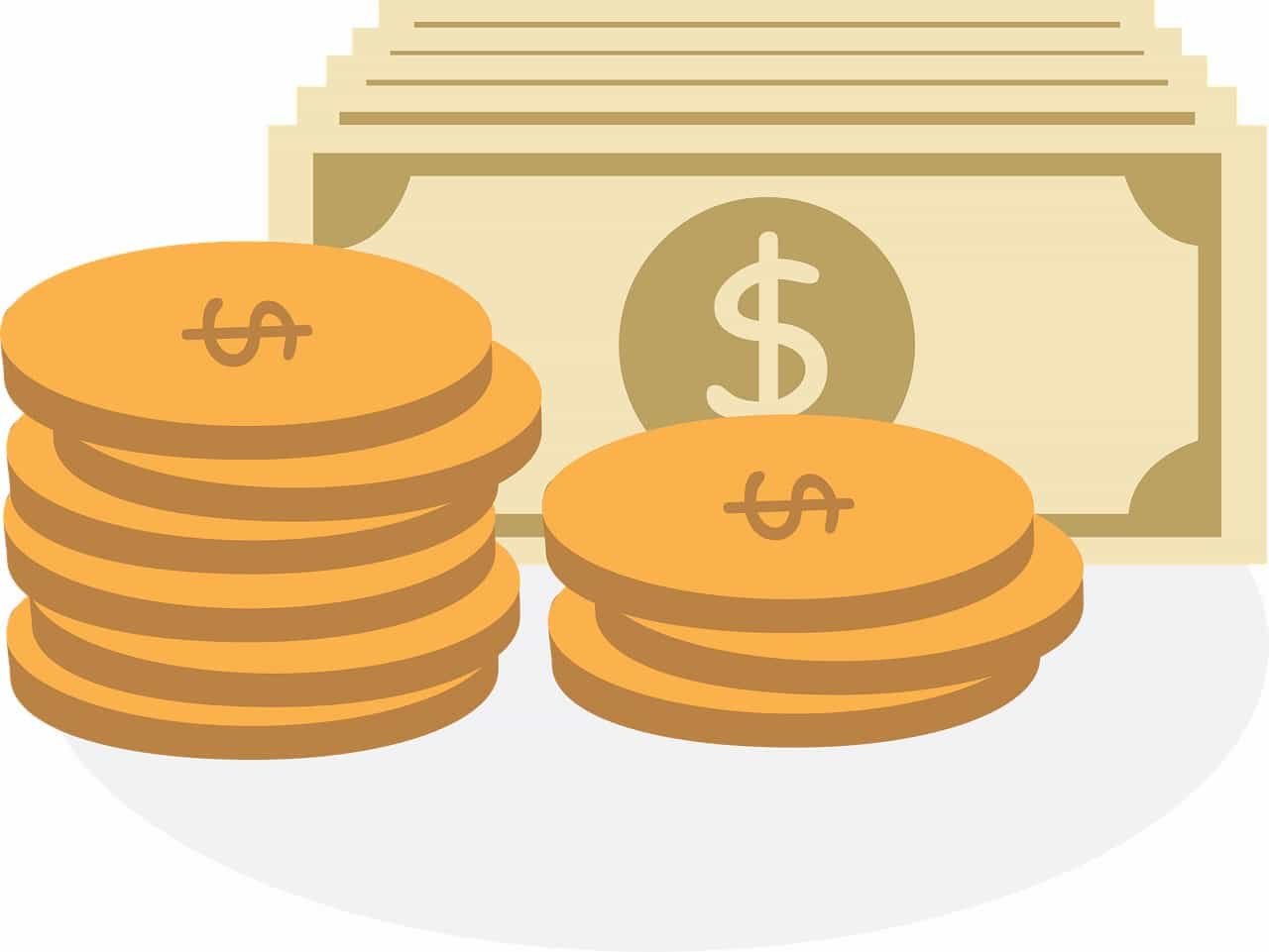 コインと紙幣