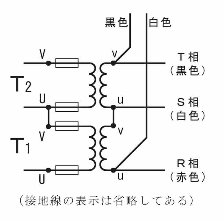 第一種電気工事士の技能試験の試験問題No.10の内部配線1