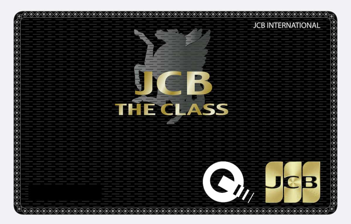 JCB THE CLASS のApple Pay